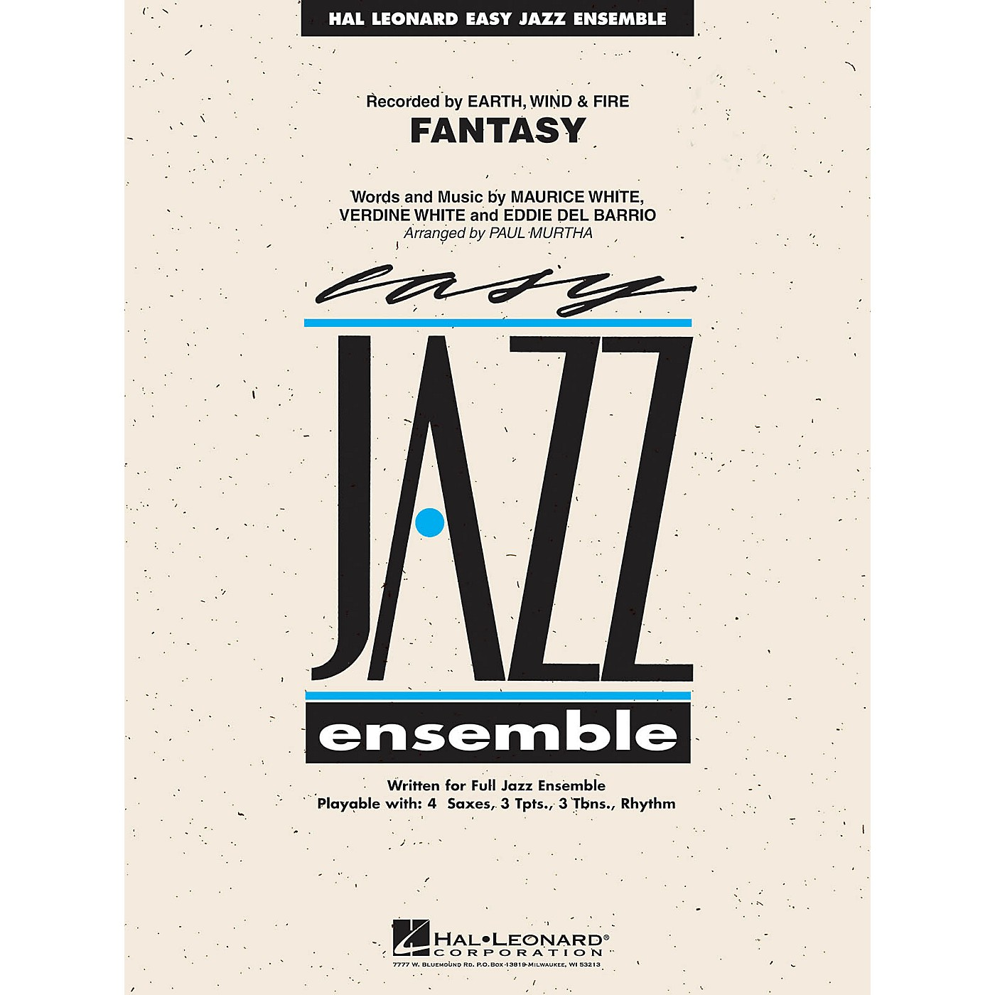 Hal Leonard Fantasy Jazz Band Level 2 by Earth, Wind & Fire Arranged by Paul Murtha thumbnail