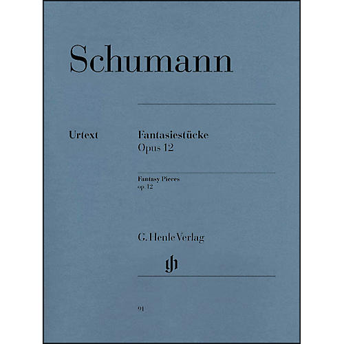 G. Henle Verlag Fantasy Pieces Op. 12 (with Appendix: Woo 28) By Schumann thumbnail
