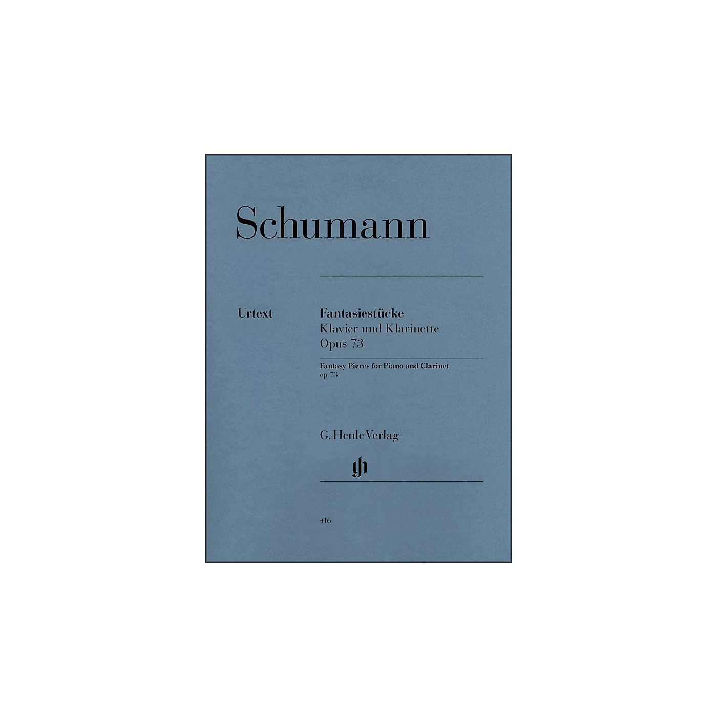 G. Henle Verlag Fantasy Pieces for Piano And Clarinet (Or Violin Or Violoncello) Opus 73 By Schumann thumbnail