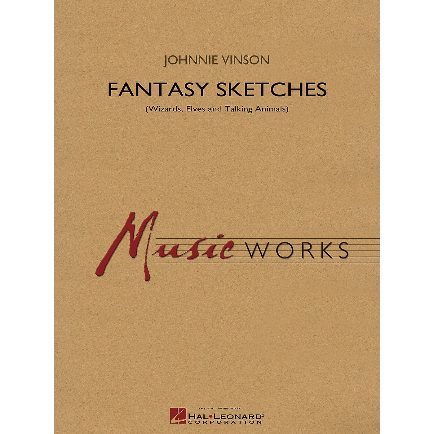 Hal Leonard Fantasy Sketches Concert Band Level 4 Composed by Johnnie Vinson thumbnail