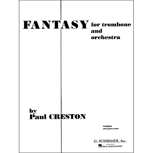 G. Schirmer Fantasy for Trombone Pno/Redorig for Orchestra thumbnail