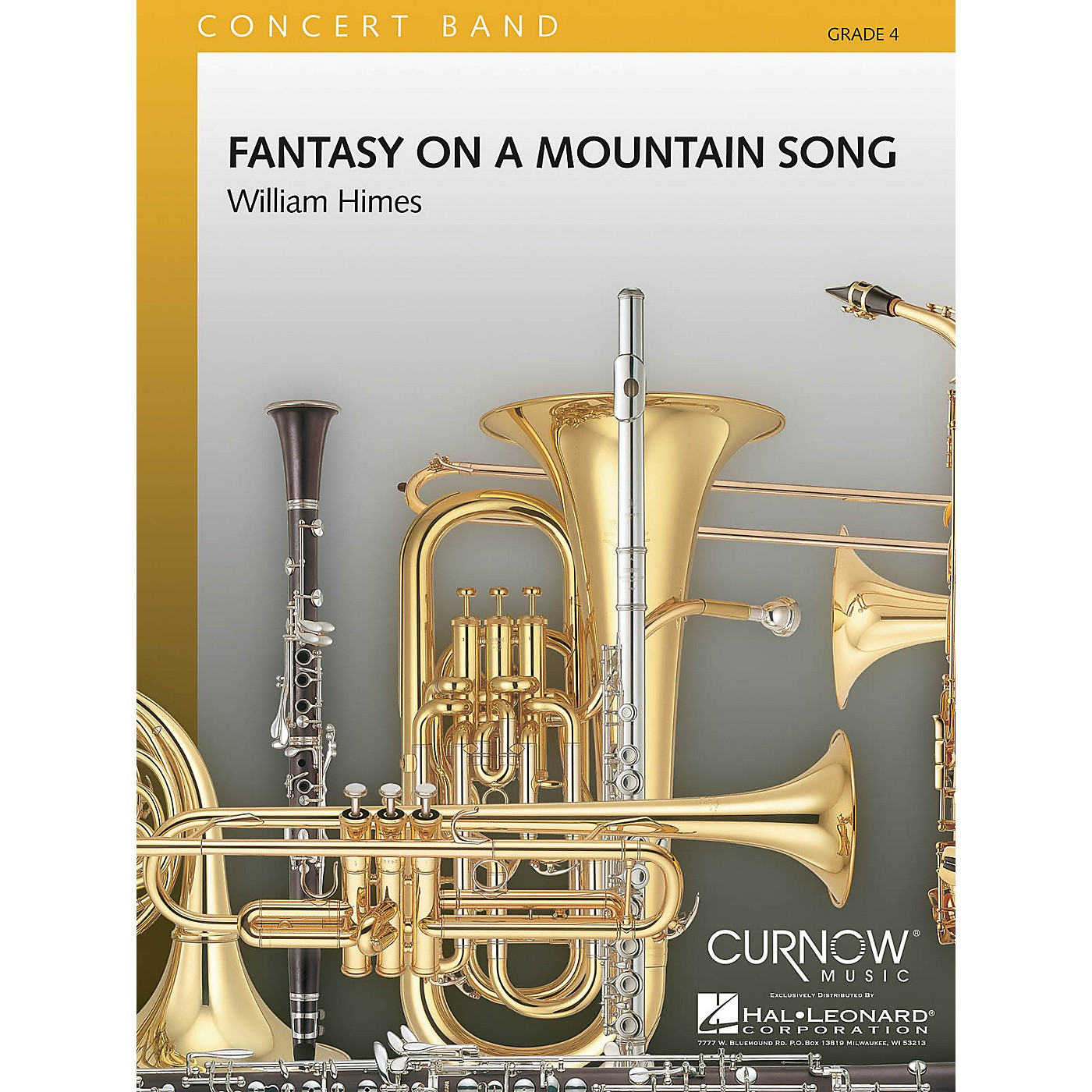 Curnow Music Fantasy on a Mountain Song (Grade 4 - Score and Parts) Concert Band Level 4 Composed by William Himes thumbnail