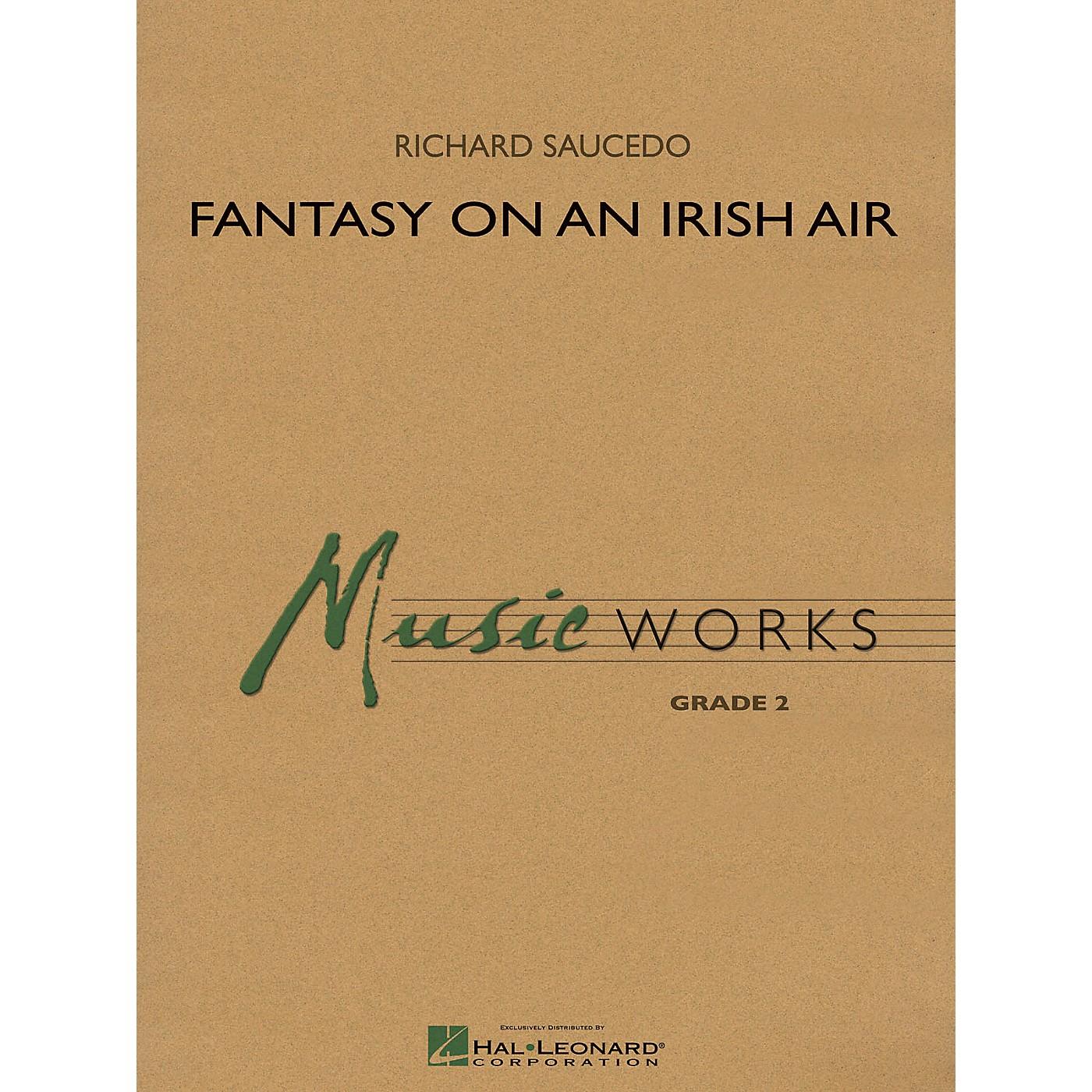 Hal Leonard Fantasy on an Irish Air Concert Band Level 2 Arranged by Richard L. Saucedo thumbnail