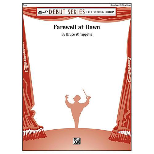 Alfred Farewell at Dawn Concert Band Grade 0.5 thumbnail