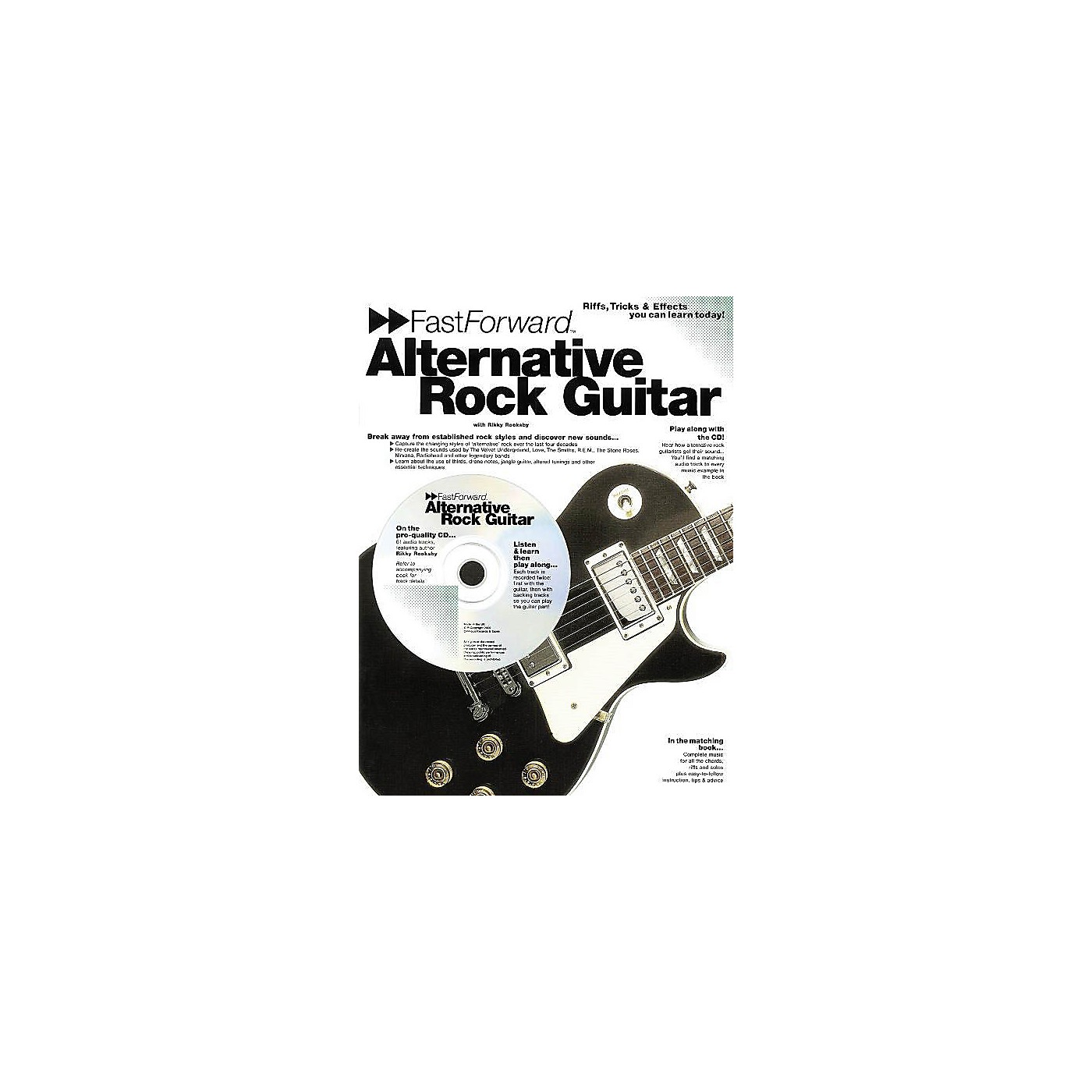 Music Sales Fast Forward - Alternative Rock Guitar Music Sales America Series Softcover with CD by Rikky Rooksby thumbnail