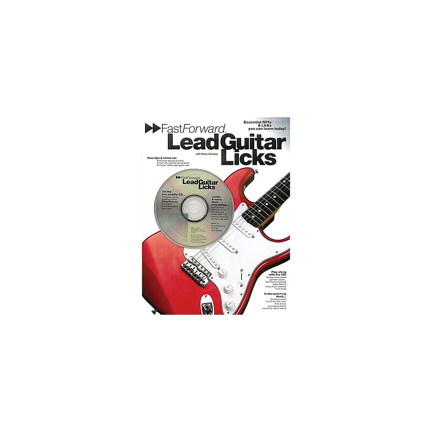 Music Sales Fast Forward - Lead Guitar Licks Music Sales America Series Softcover with CD Written by Rikky Rooksby thumbnail
