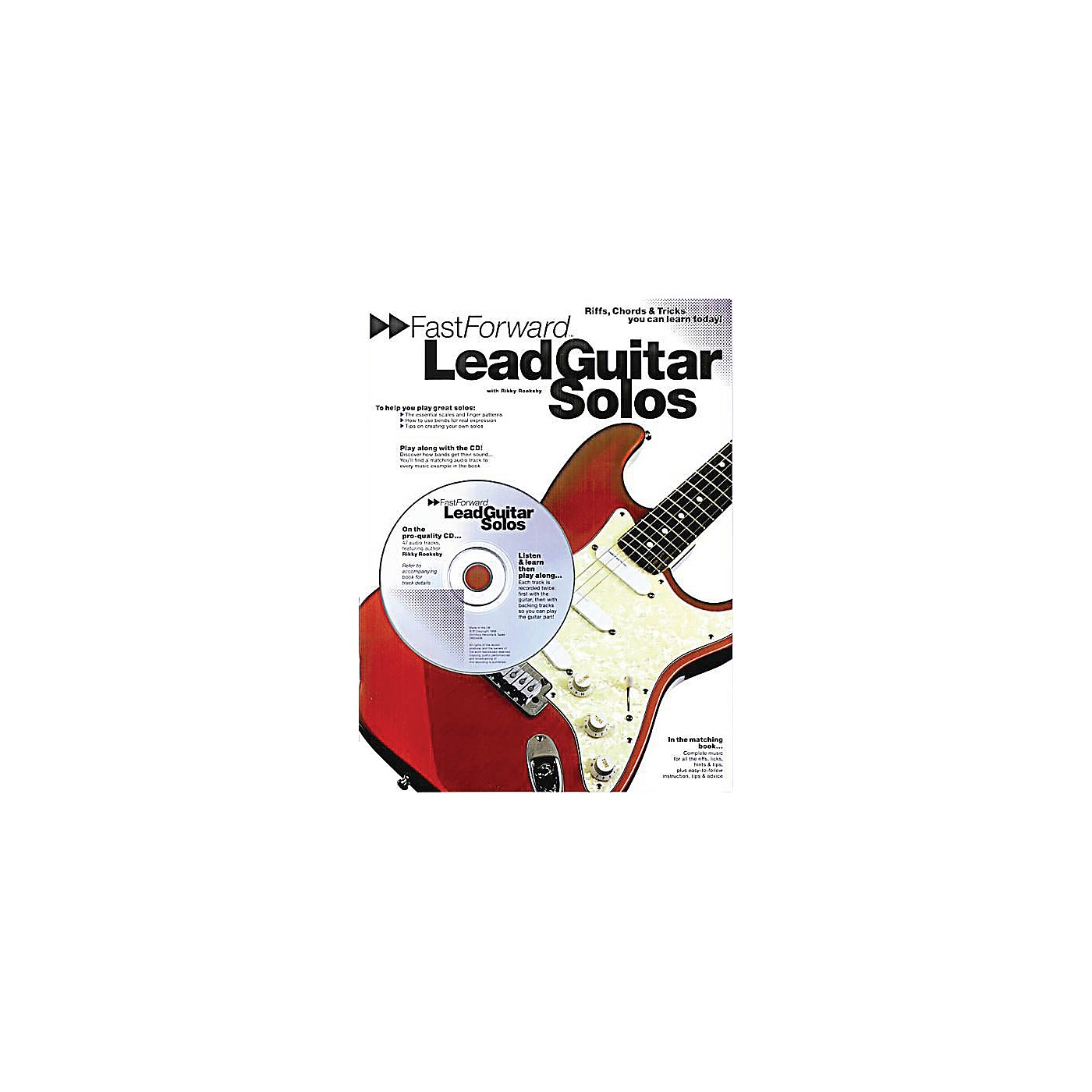 Music Sales Fast Forward - Lead Guitar Solos Music Sales America Series Softcover with CD Written by Rikky Rooksby thumbnail
