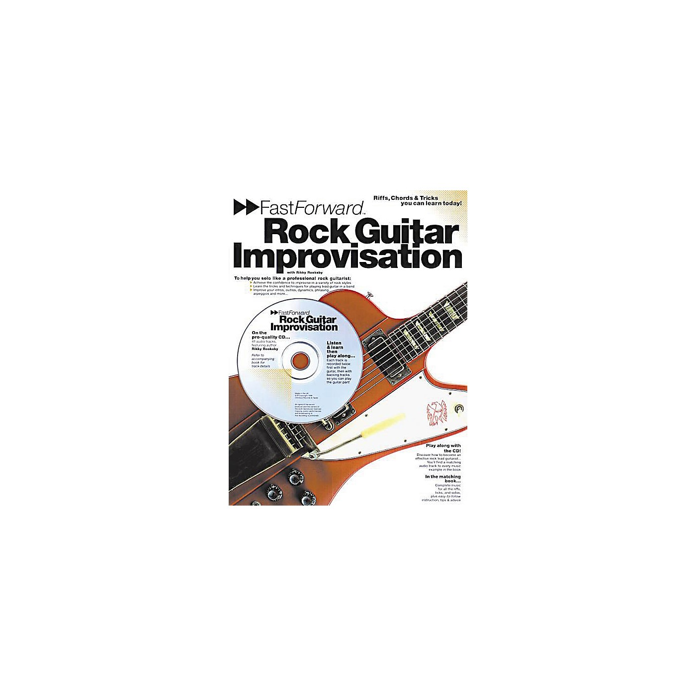 Music Sales Fast Forward - Rock Guitar Improvisation Music Sales America Series Softcover with CD by Rikky Rooksby thumbnail