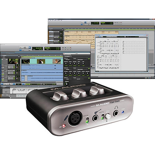 M-Audio Fast Track MKII USB Audio Interface with Pro Tools SE-thumbnail