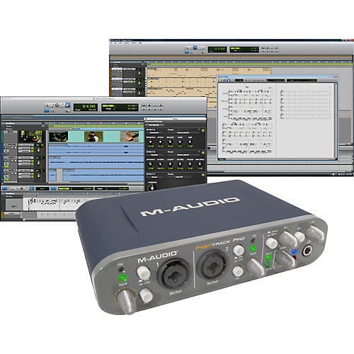 M-Audio Fast Track Pro Mobile USB Interface with Pro Tools SE thumbnail