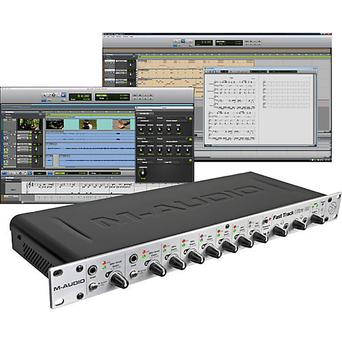 M-Audio Fast Track Ultra 8R USB Interface with Pro Tools SE thumbnail
