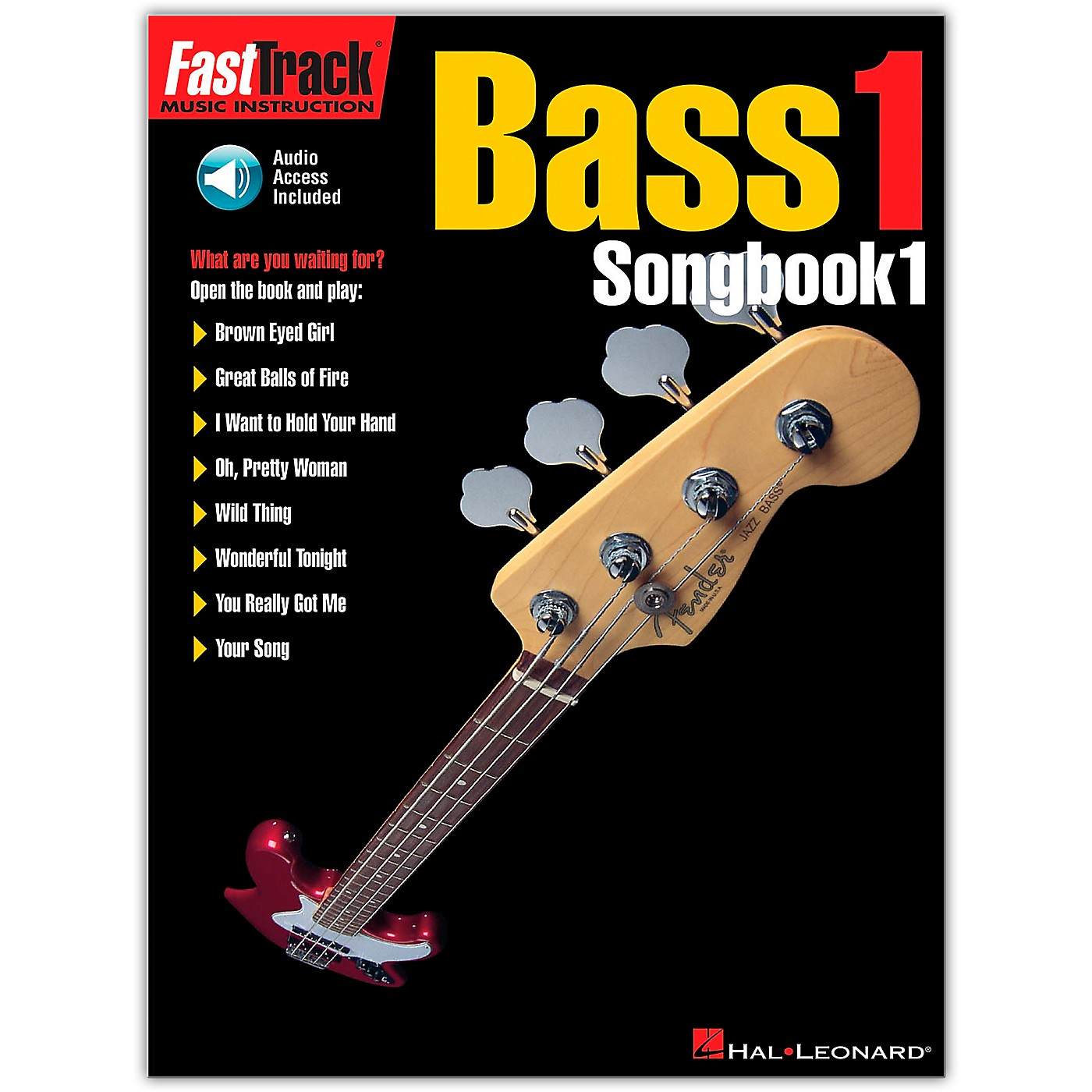 Hal Leonard FastTrack Bass Tab Songbook 1 (Book/Online Audio) thumbnail