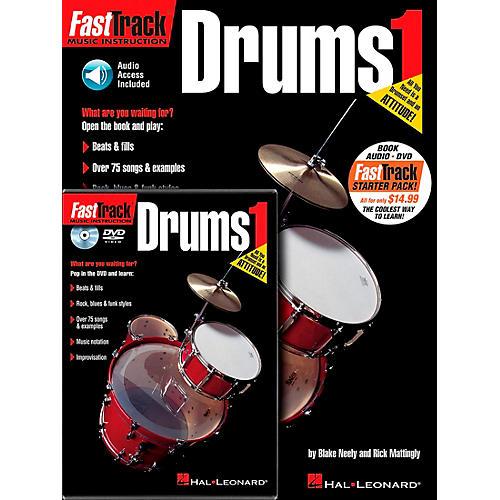 Hal Leonard FastTrack Drum Method Starter Pack (Book/Online Media) thumbnail