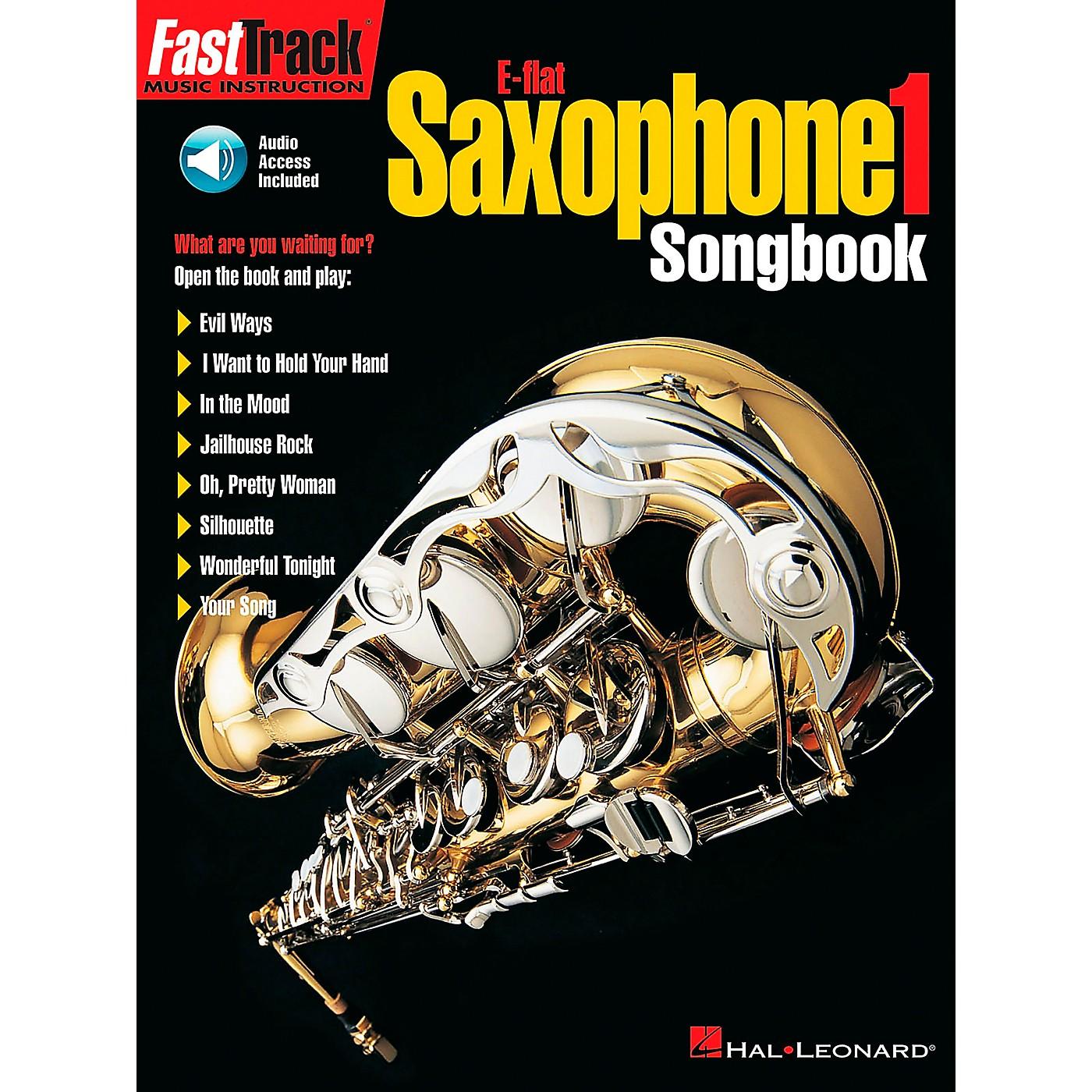 Hal Leonard FastTrack E Flat Alto Saxophone Songbook 1 Level 1 Book/CD thumbnail