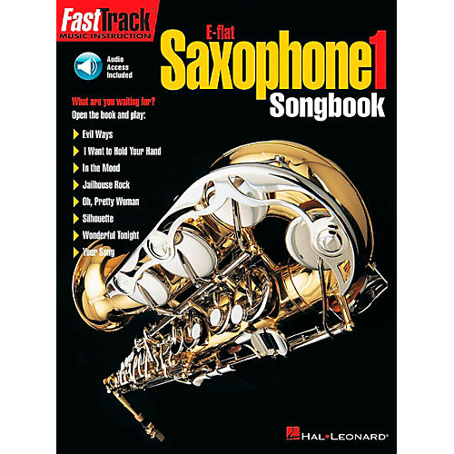 Hal Leonard FastTrack E Flat Alto Saxophone Songbook 1 Level 1 Book/CD thumbnail