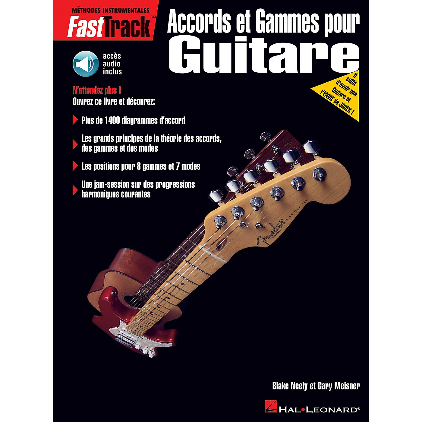 Hal Leonard FastTrack Guitar Chords & Scales - French Edition BK/CD by Blake Neely thumbnail