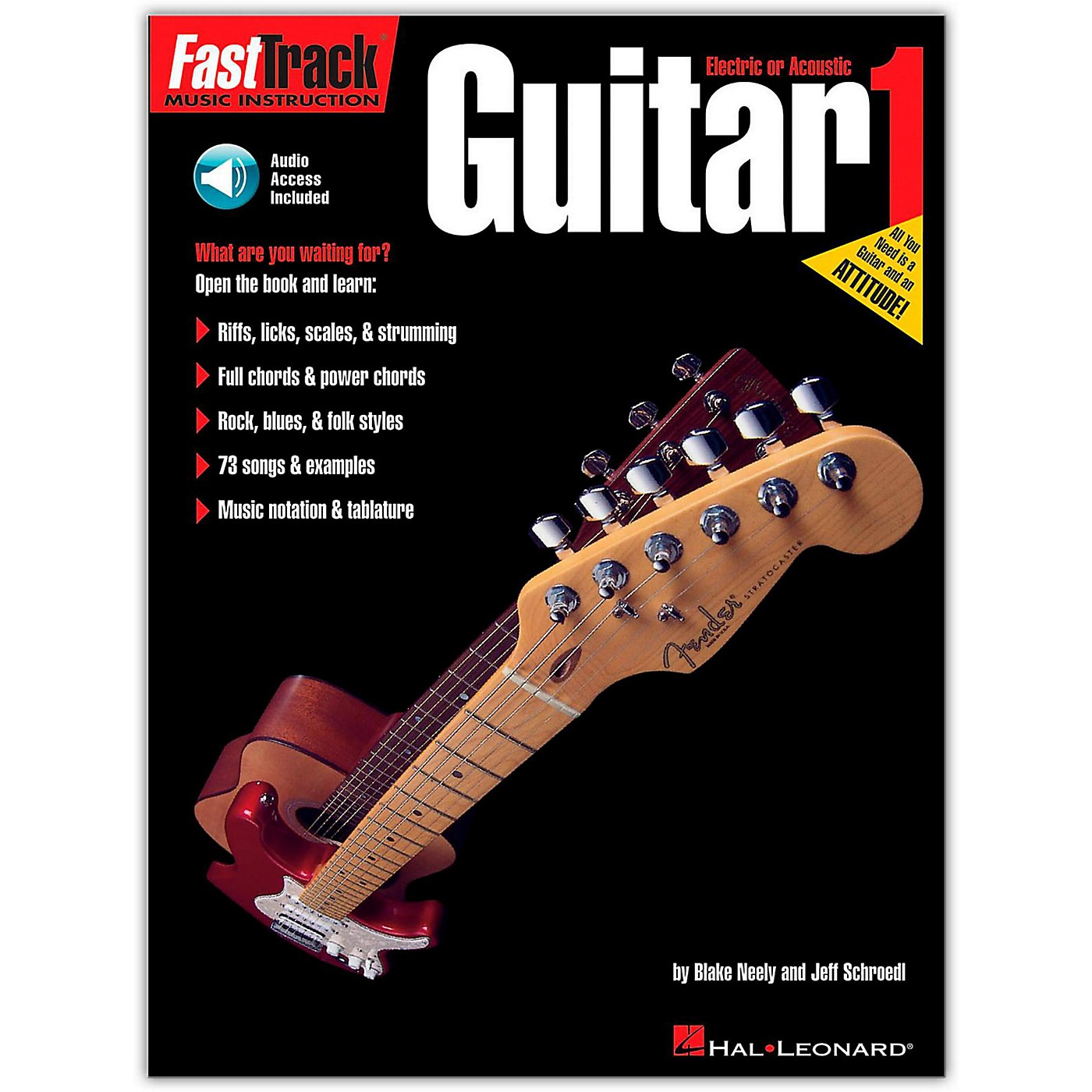 Hal Leonard FastTrack Guitar Method Book 1 (Book/Online Audio) thumbnail