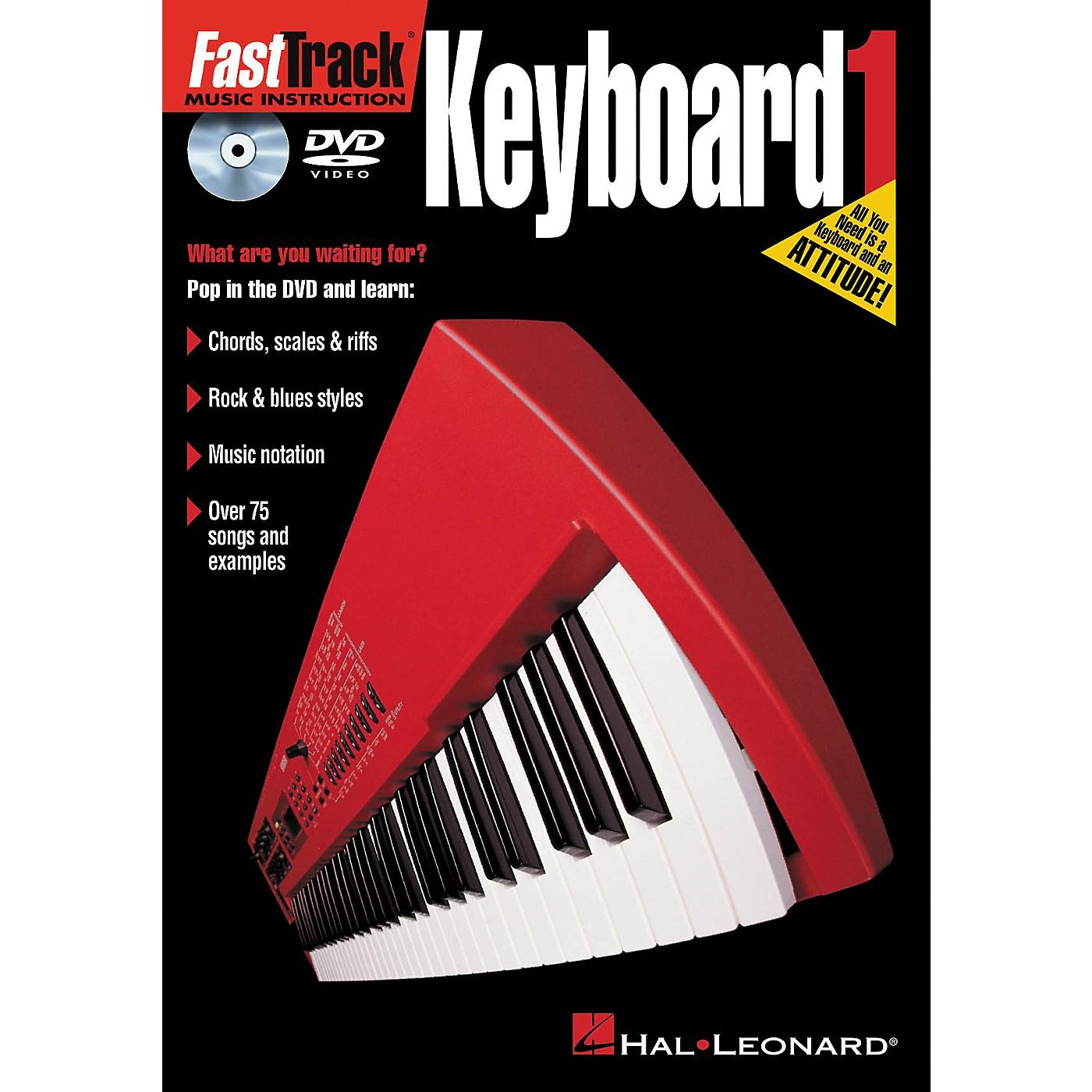 Hal Leonard FastTrack Keyboard 1 ( DVD) thumbnail
