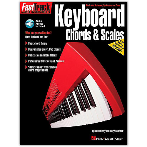 Hal Leonard FastTrack Keyboard Chords and Scales (Book/Online Audio)-thumbnail