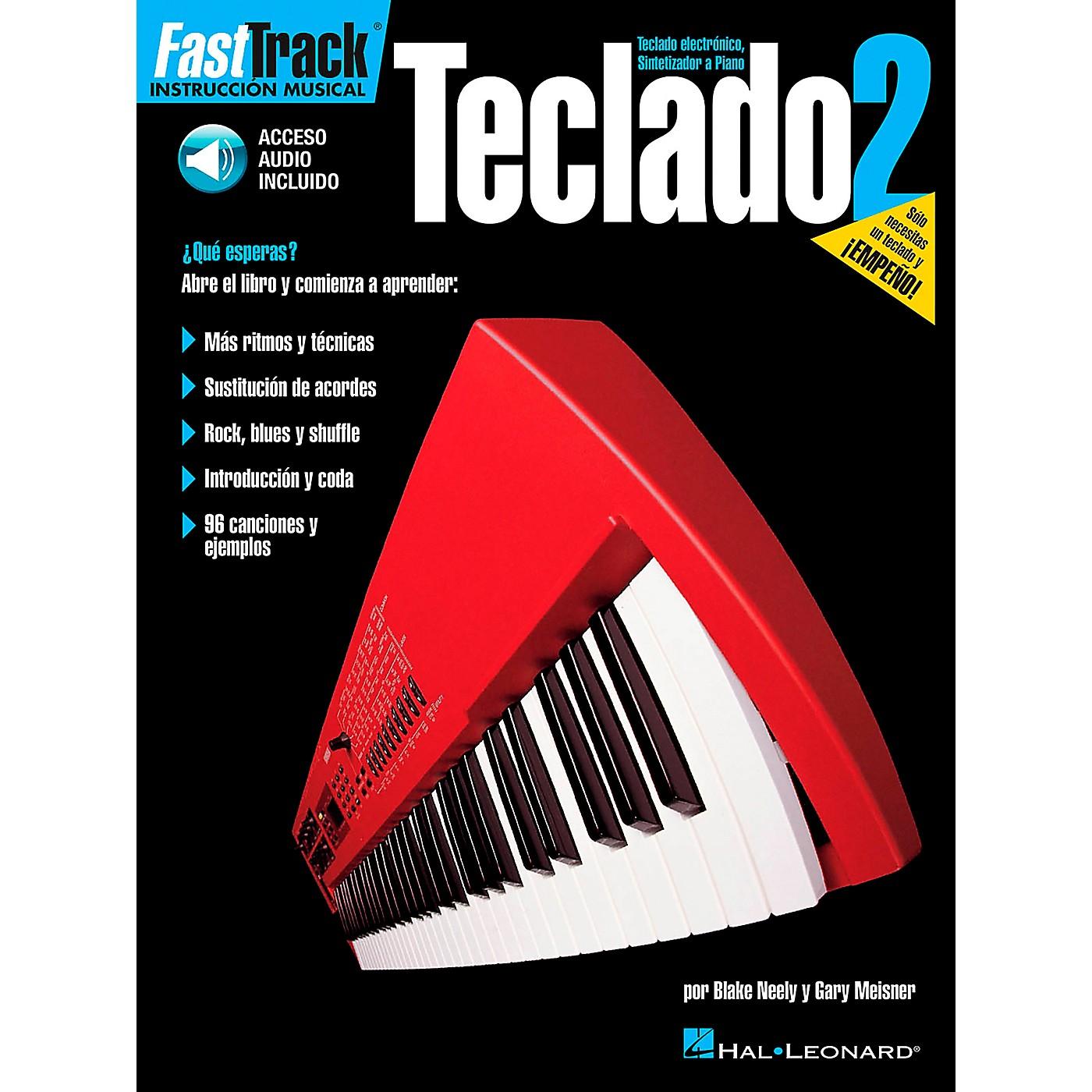 Hal Leonard FastTrack Keyboard Method Book 2 Book/CD - Spanish Edition thumbnail