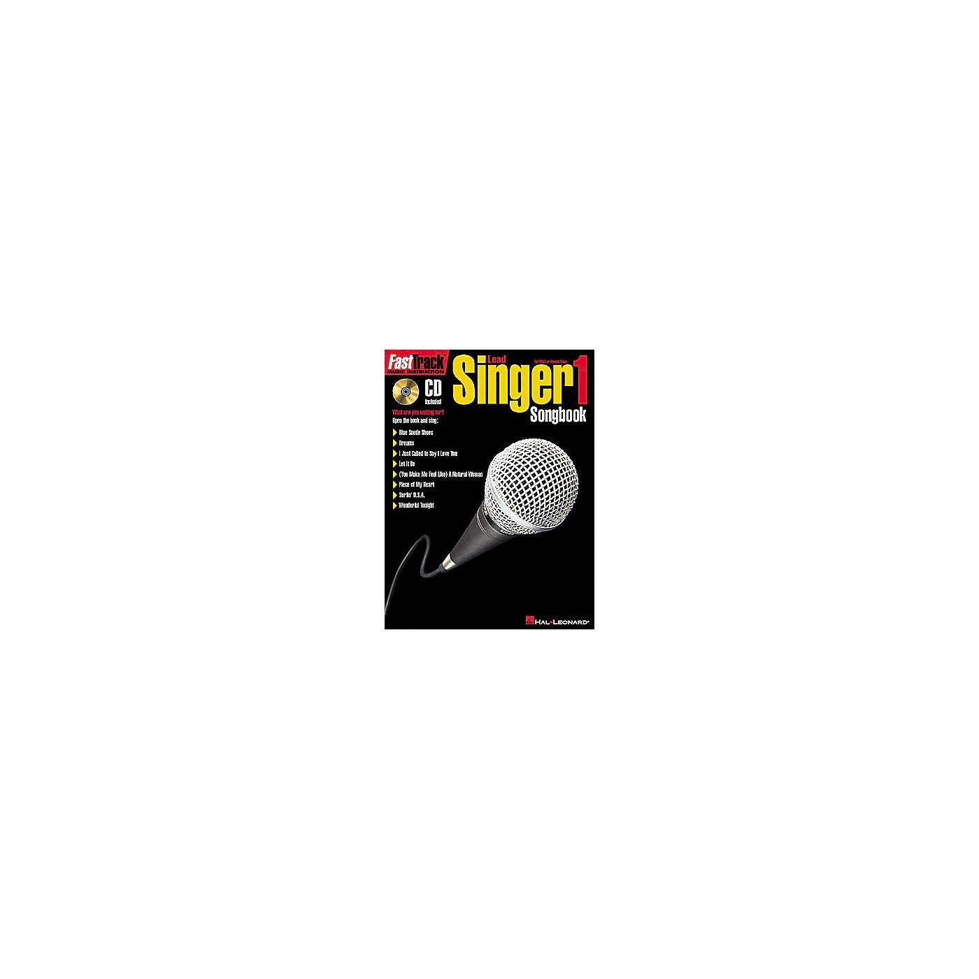 Hal Leonard FastTrack Lead Singer Songbook 1 - Level 1 Book/CD thumbnail