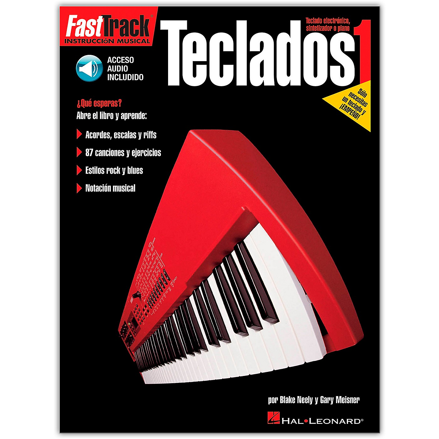 Hal Leonard Fasttrack Keyboard Method Book 1 - Spanish Edition (Book/Online Audio) thumbnail