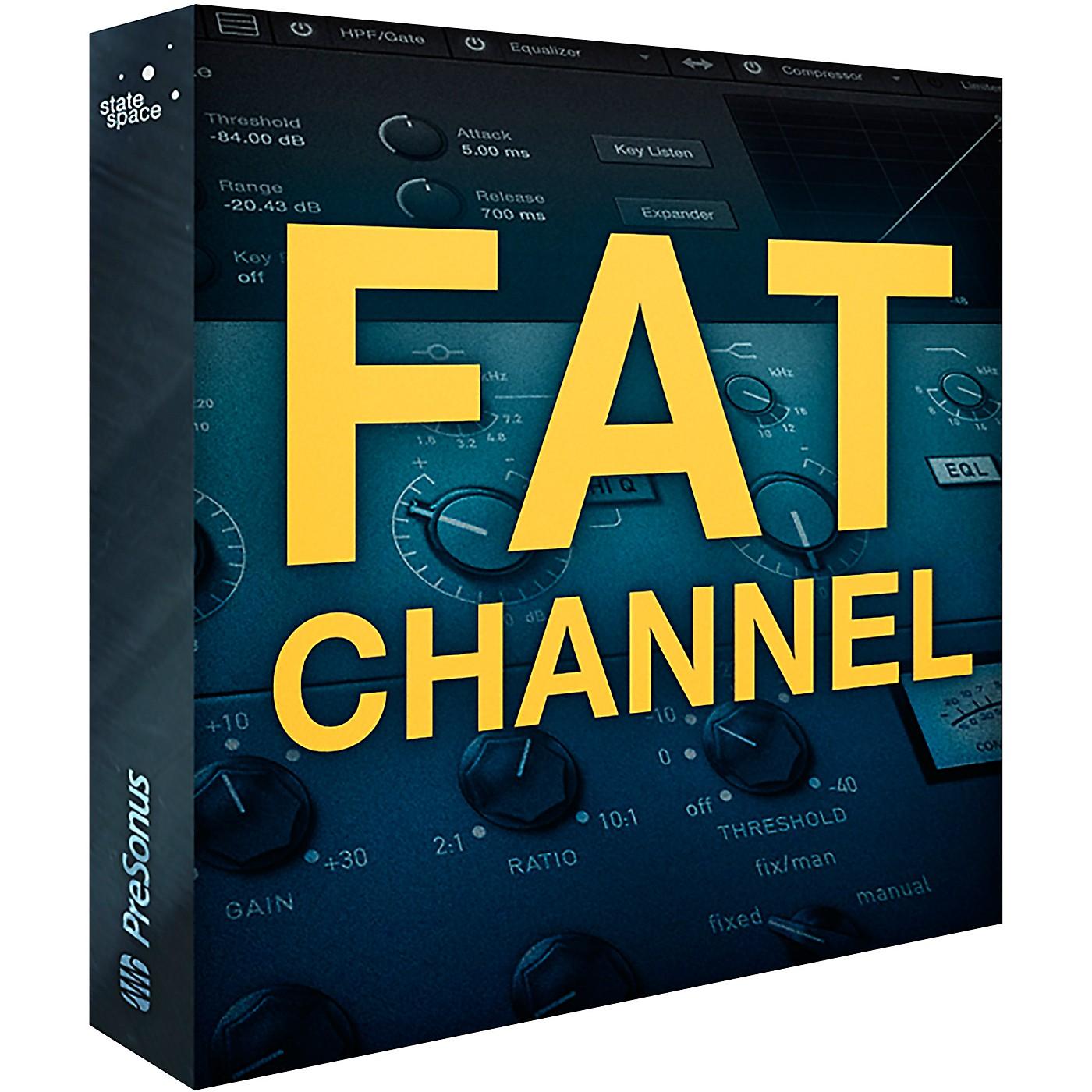 PreSonus Fat Channel XT - Complete Channel Strip Plug-in (Download) thumbnail
