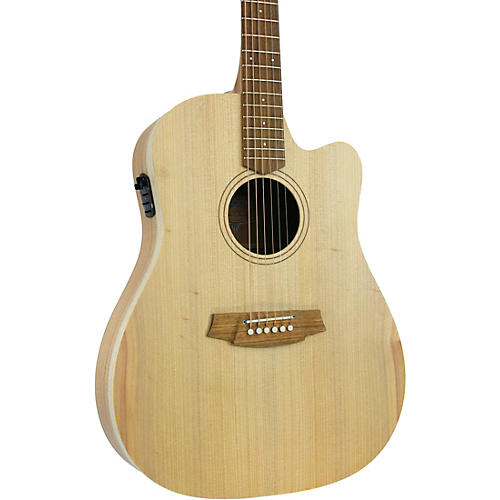 Cole Clark Fat Lady 1 CCFL1EC-BM Dreadnought Acoustic-Electric Guitar thumbnail