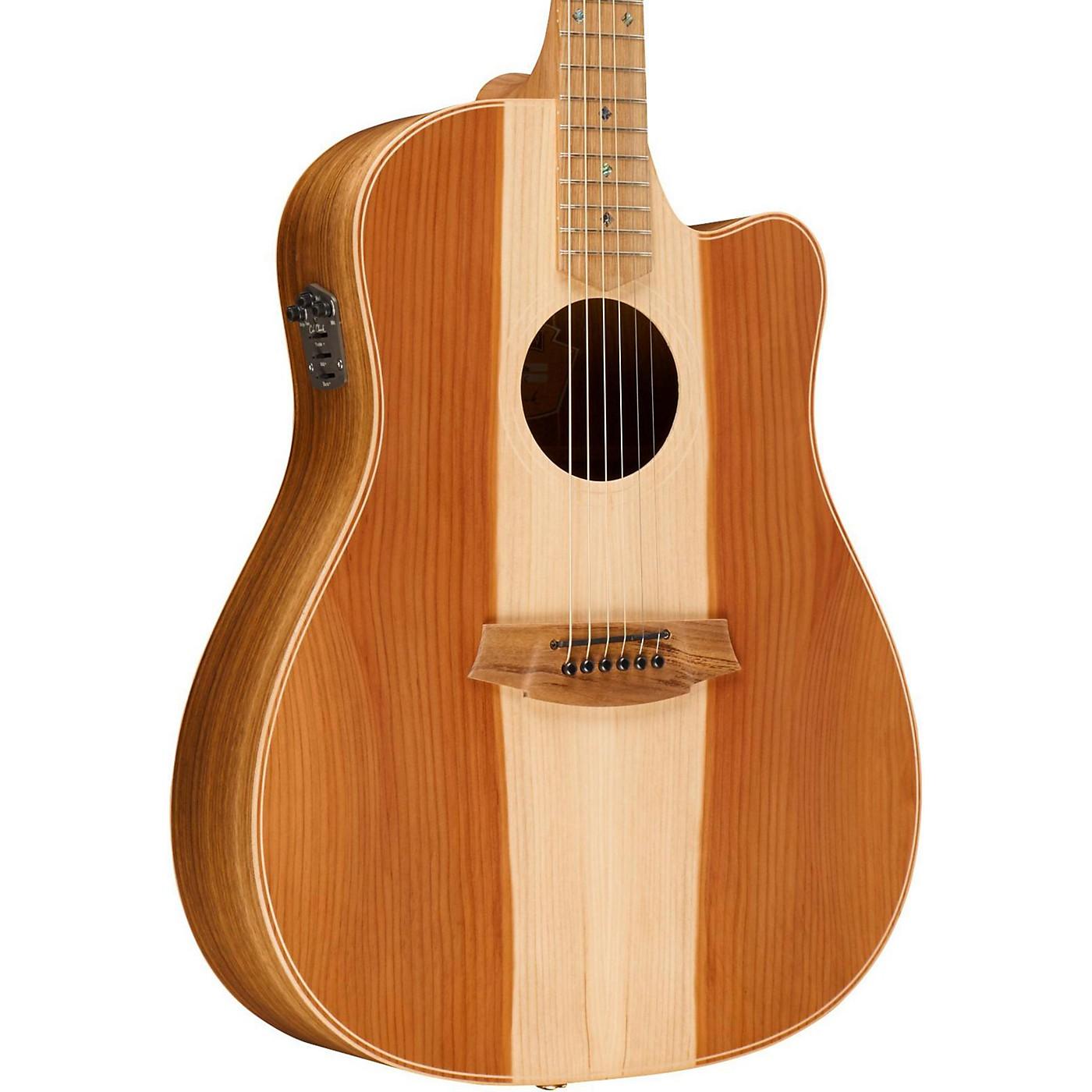 Cole Clark Fat Lady 2 Series Australian Eco Redwood/Blackwood Dreadnought Acoustic-Electric Guitar thumbnail