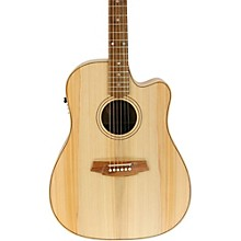 Cole Clark Fat Lady 2 Series Bunya/Blackwood Cutaway Dreadnought Acoustic-Electric Guitar