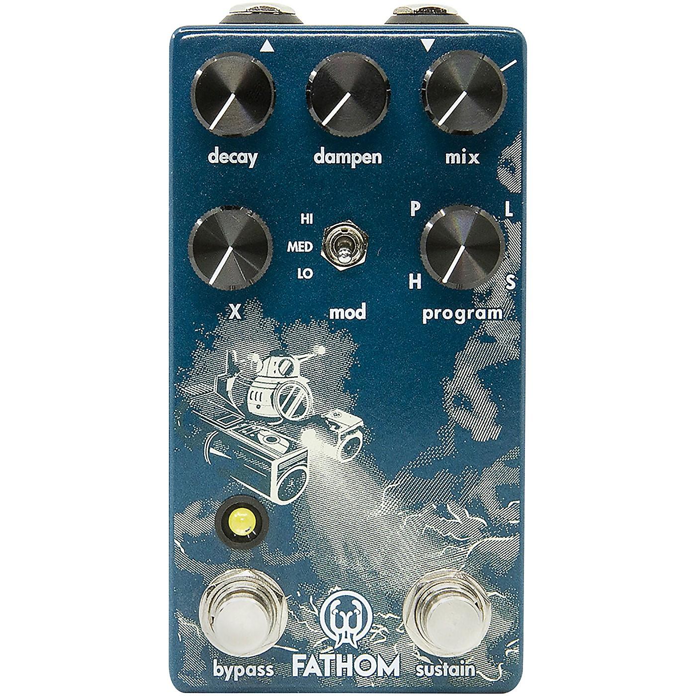 Walrus Audio Fathom Multi-Function Reverb Effects Pedal thumbnail