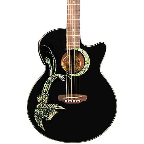 Luna Guitars Fauna Phoenix Folk Style Cutaway Acoustic-Electric Guitar thumbnail