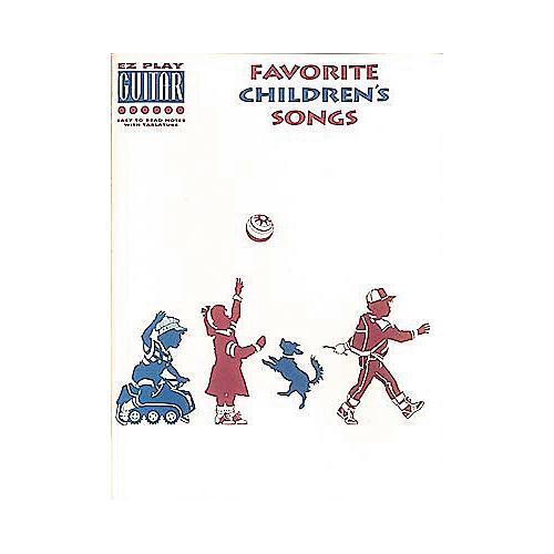 Hal Leonard Favorite Children's Songs Book thumbnail