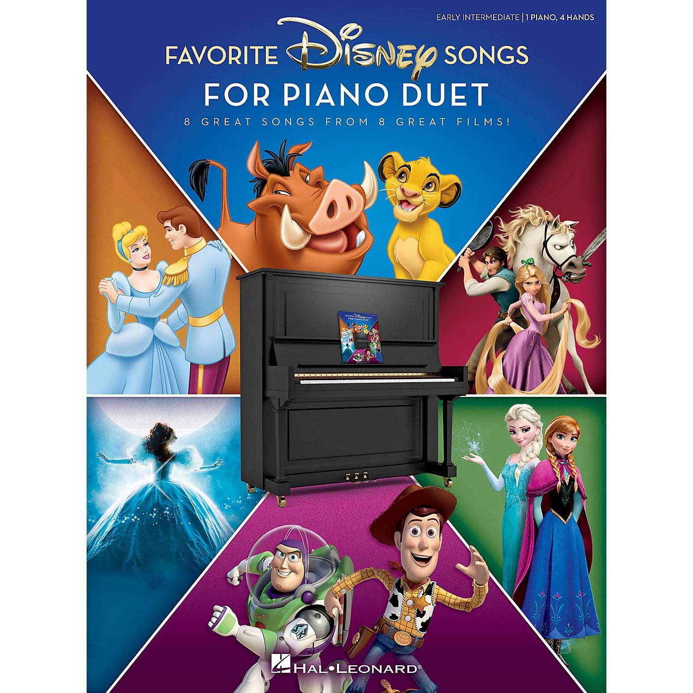 Hal Leonard Favorite Disney Songs for Piano Duet 1 Piano, 4 Hands / Early Intermediate thumbnail