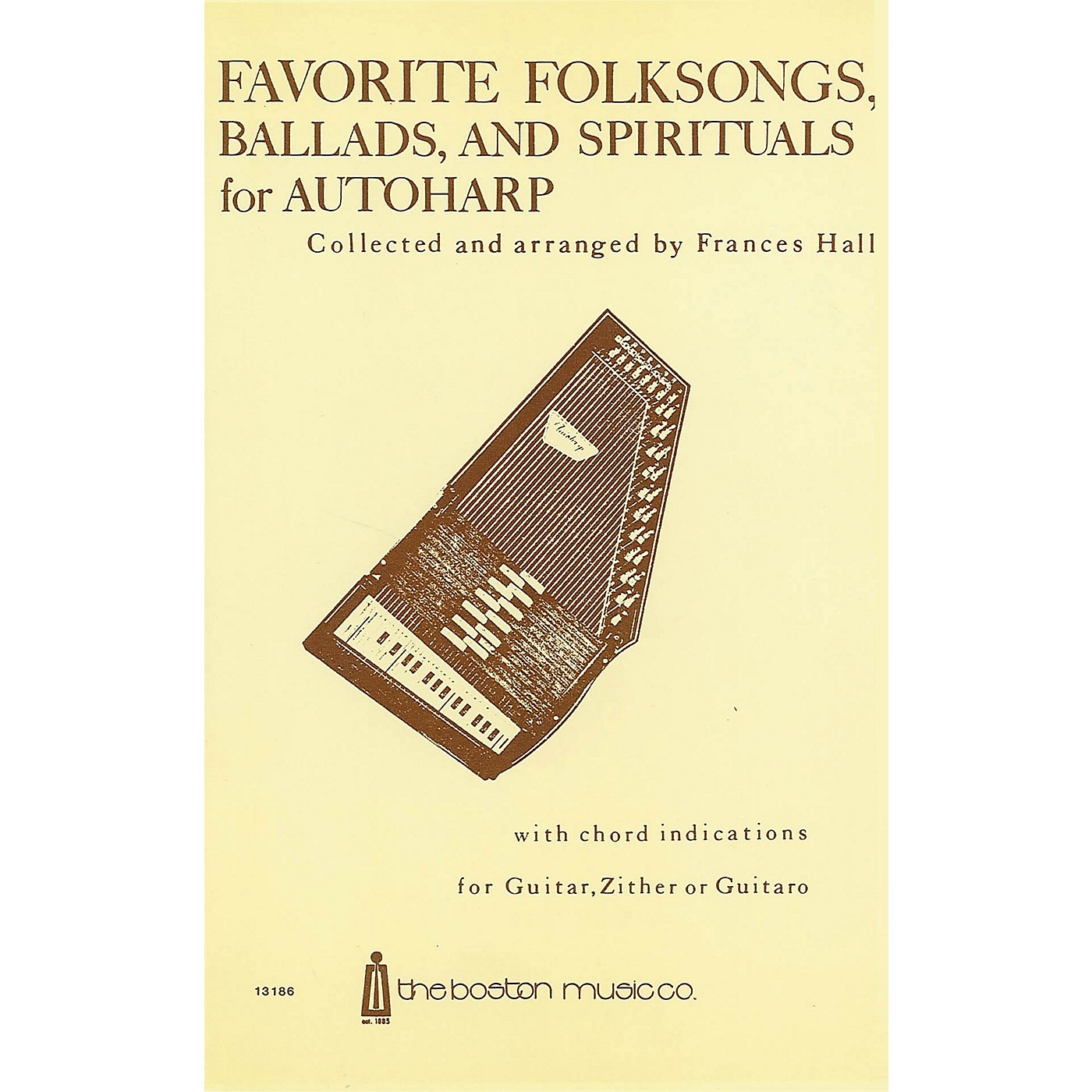 Music Sales Favorite Folksongs, Ballads and Spirituals for Autoharp Music Sales America Series thumbnail