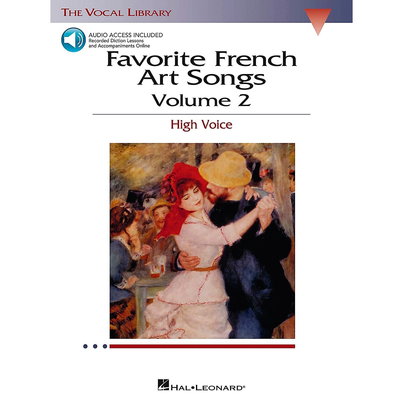 Hal Leonard Favorite French Art Songs for High Voice Volume 2 Book/CD thumbnail