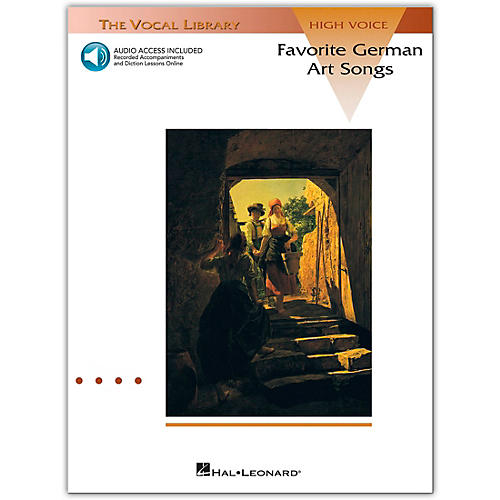 Hal Leonard Favorite German Art Songs High Voice (Book/Online Audio) thumbnail