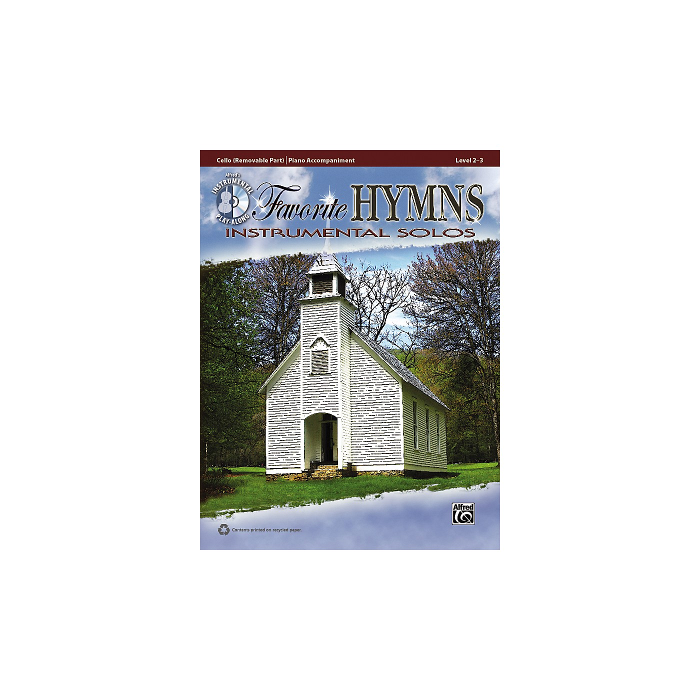 Alfred Favorite Hymns Instrumental Solos Cello Book & CD thumbnail