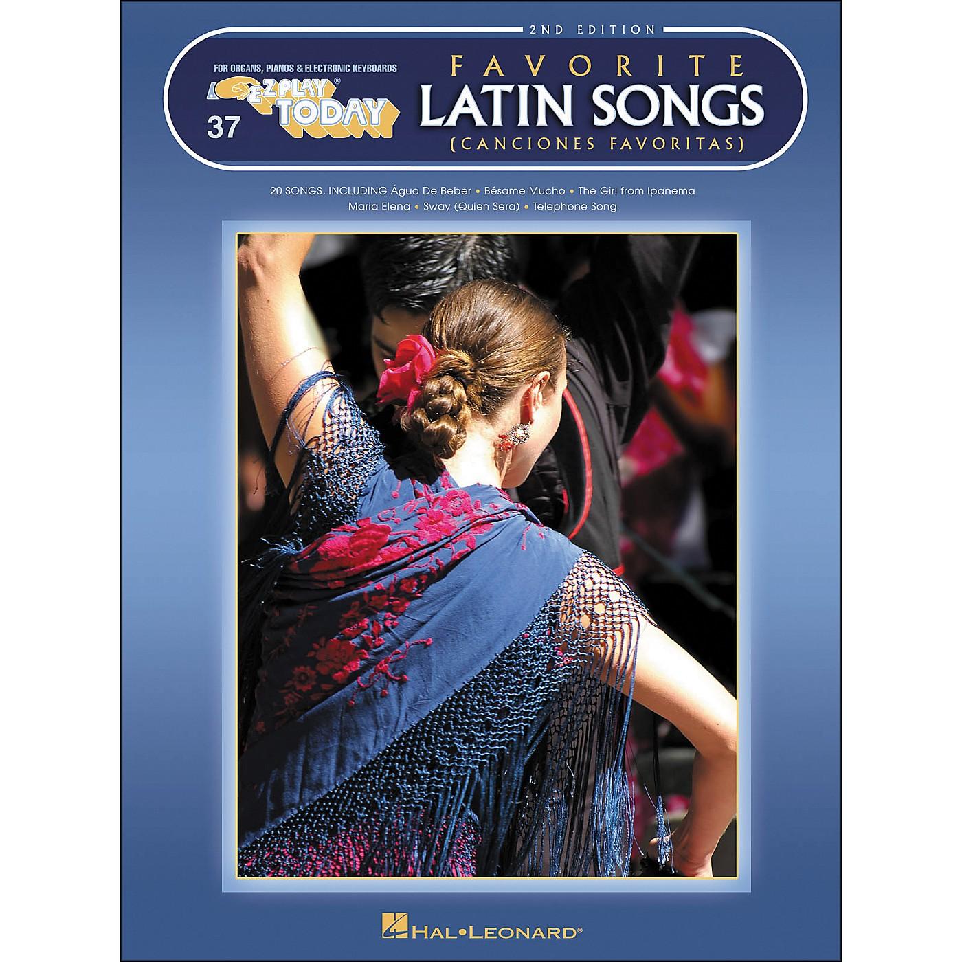Hal Leonard Favorite Latin Songs 2nd Edition E-Z Play 37 thumbnail
