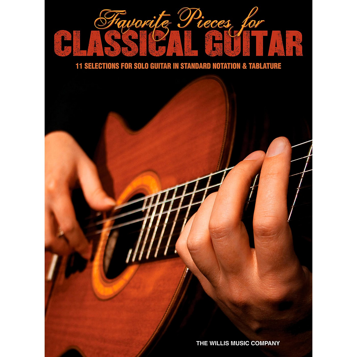 Hal Leonard Favorite Pieces For Classical Guitar  Solo Guitar with Tab thumbnail