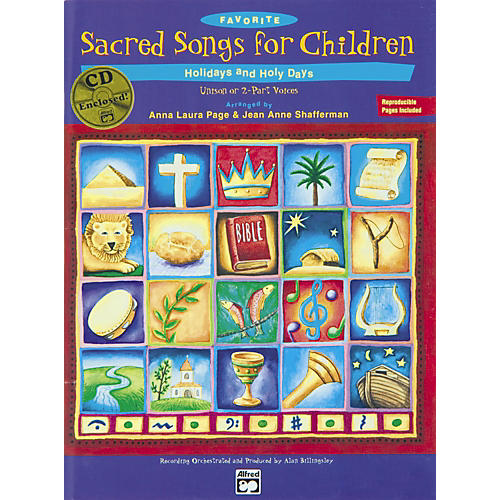 Alfred Favorite Sacred Songs for Children, Holidays and Holy Days - 2 of 3 Songbook thumbnail