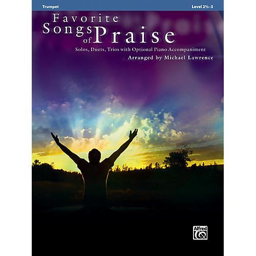 Alfred Favorite Songs of Praise (Trumpet Version) thumbnail