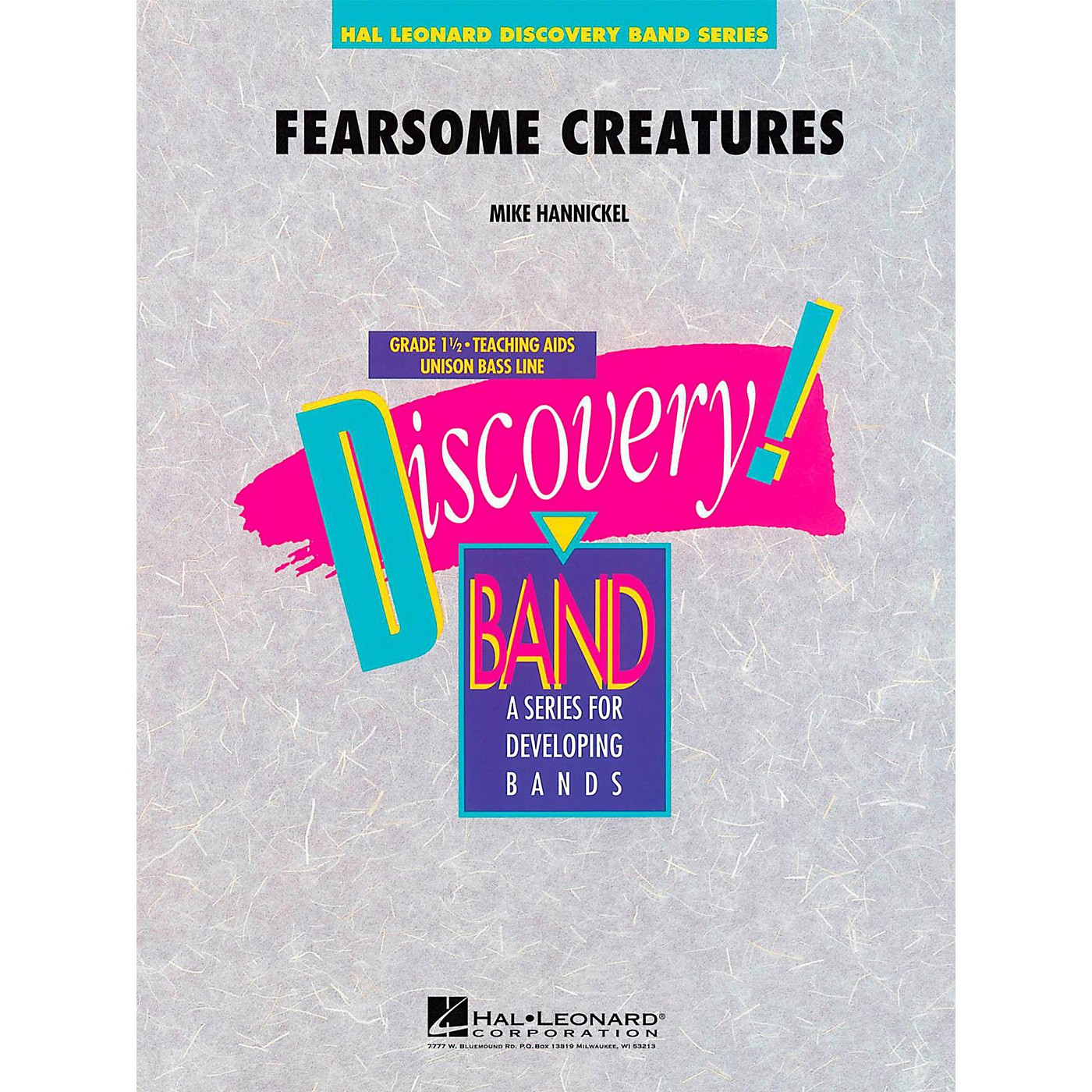 Hal Leonard Fearsome Creatures - Discovery Concert Band Level 1.5 thumbnail
