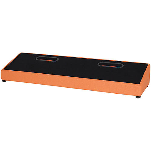 Blackbird Pedalboards Feather XL Pedalboard and Gig Bag Orange Tolex thumbnail
