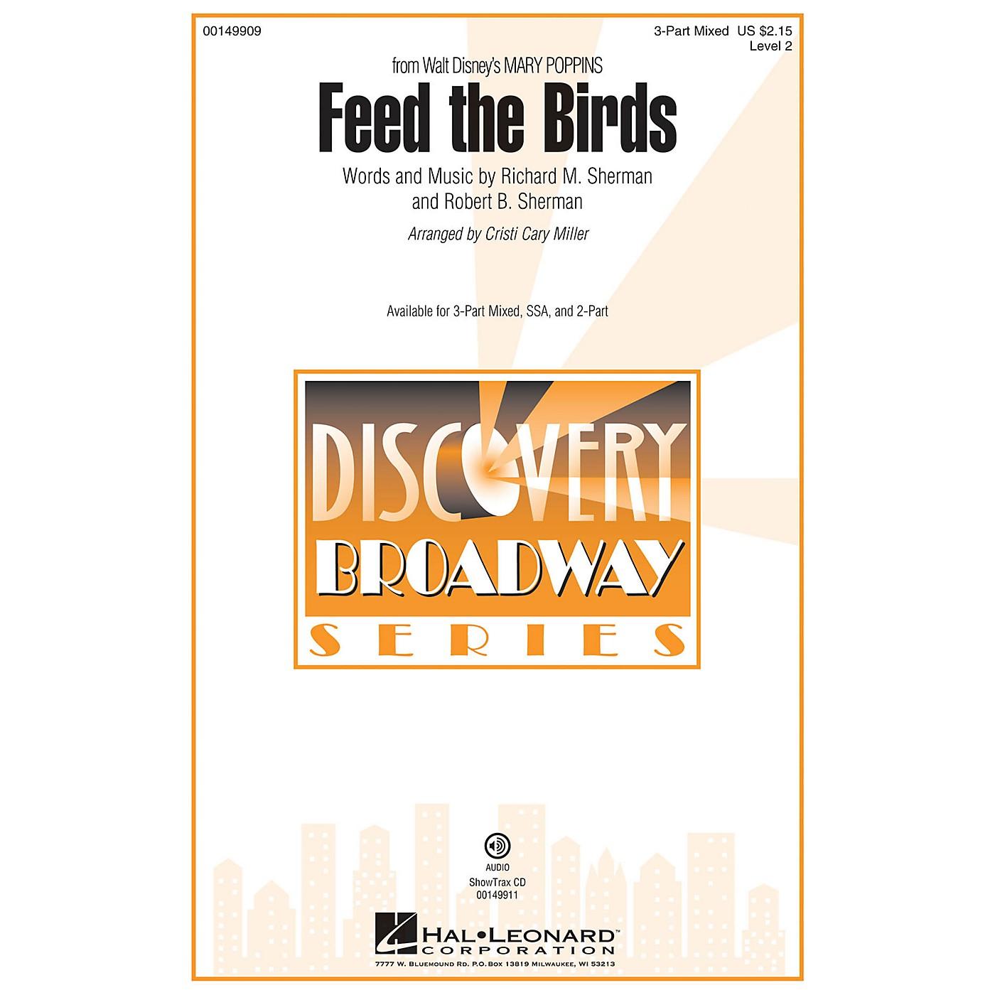 Hal Leonard Feed the Birds (Discovery Level 2) ShowTrax CD Arranged by Cristi Cary Miller thumbnail