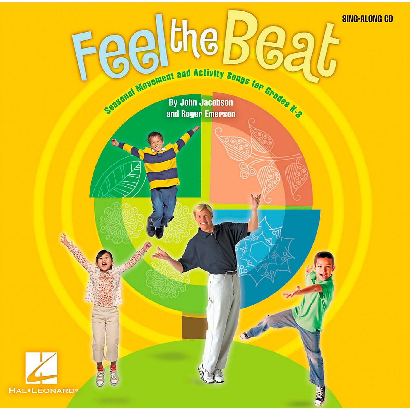 Hal Leonard Feel The Beat! - Seasonal Movement and Activity Songs for Grades K-3 Sing-Along CD thumbnail