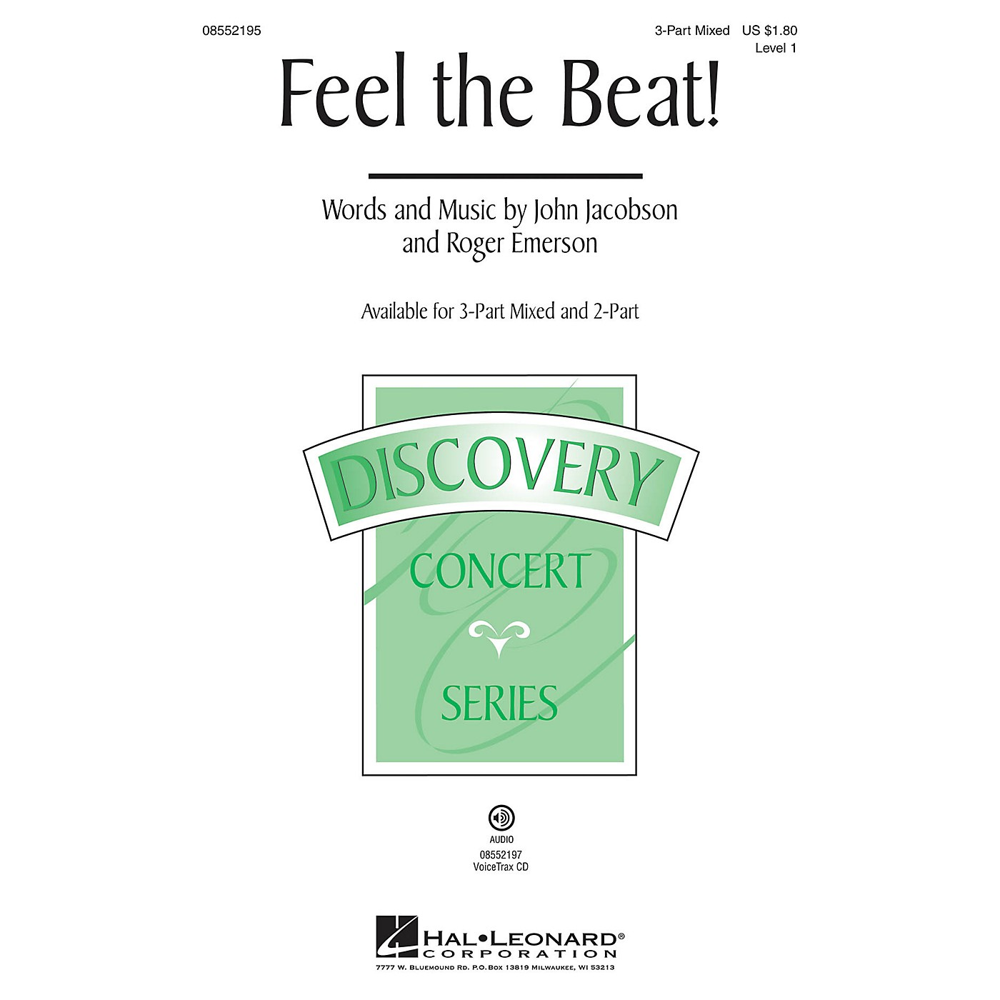 Hal Leonard Feel the Beat! (Discovery Level 1) VoiceTrax CD Composed by Roger Emerson thumbnail