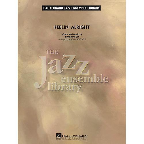 Hal Leonard Feelin' Alright Jazz Band Level 4 Arranged by John Wasson thumbnail