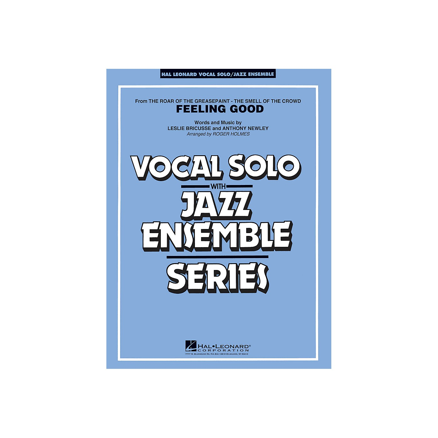 Hal Leonard Feeling Good - Vocal Solo Jazz Ensemble Series Level 4 thumbnail