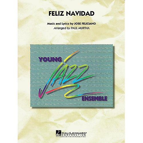 Hal Leonard Feliz Navidad Jazz Band Level 3 Arranged by Paul Murtha thumbnail
